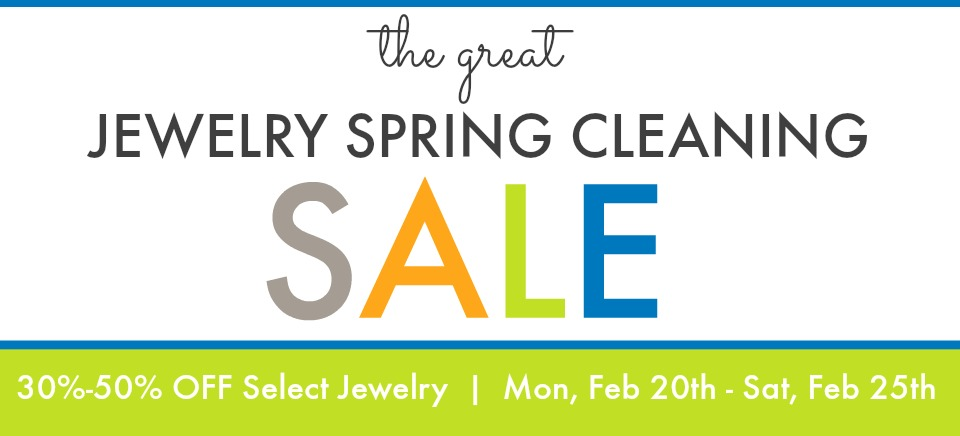 the great jewelry spring cleaning sale - calendar & events