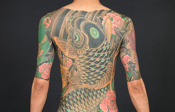 Vmfa japanese tattoo perseverance art and tradition for Japanese tattoo art