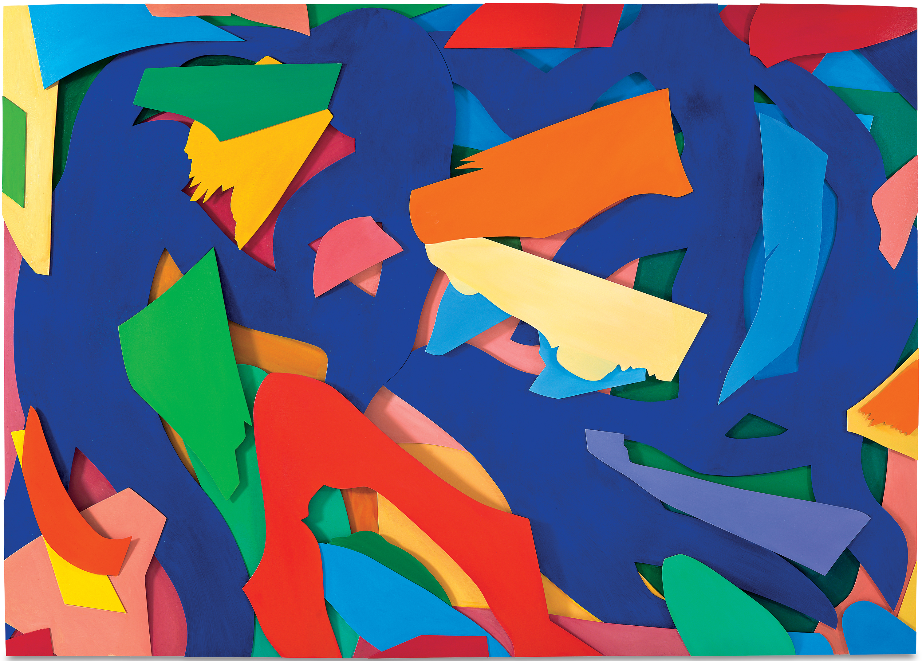 tom wesselmann s pop art makes a statement vmfa press room blue dance painting
