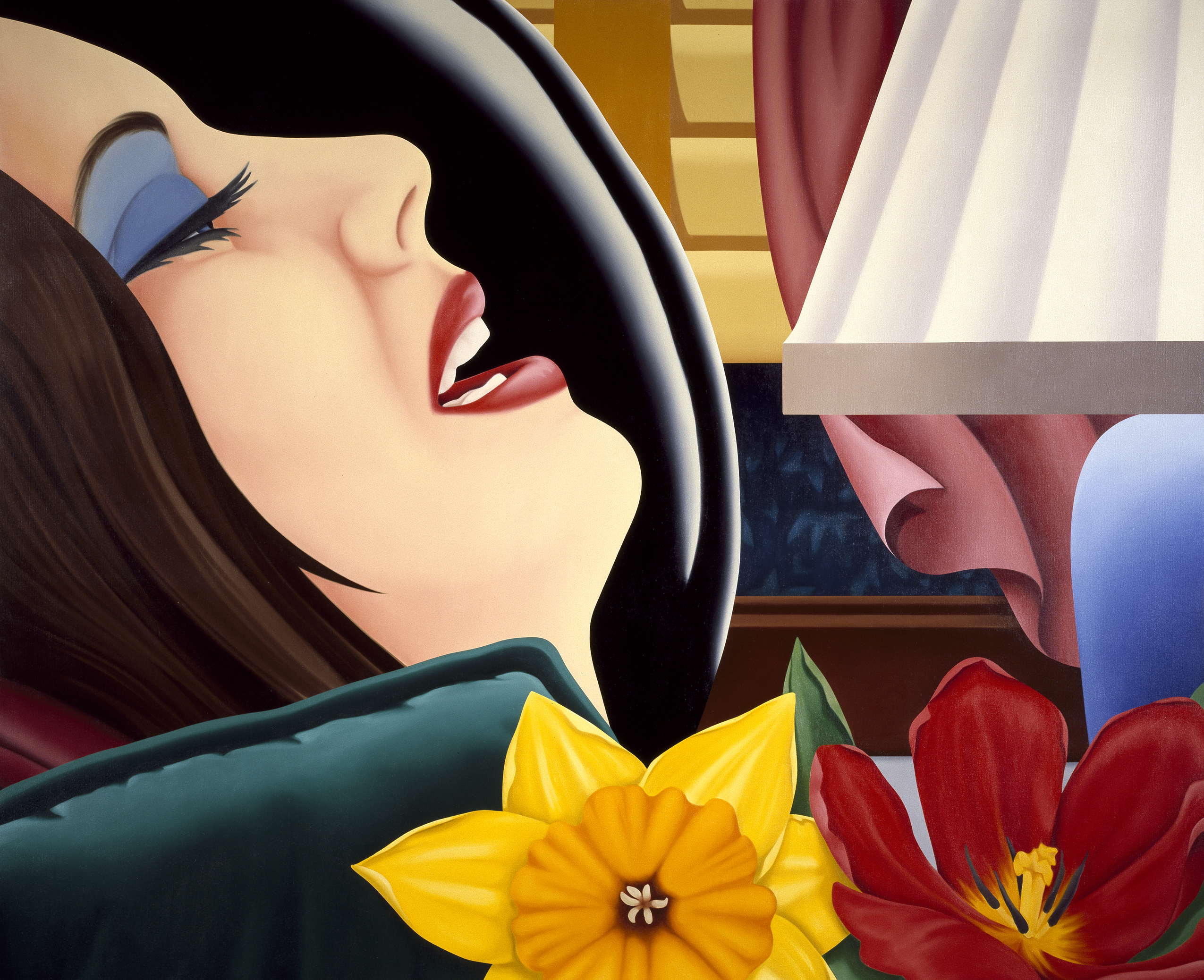 tom wesselmann s pop art makes a statement vmfa press room bedroom painting