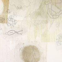 A second, a pearl (2) (detail), 2013, Multiple plate color intaglio