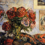 Paul Gauguin (French, 1848–1903) Still Life with Peonies, 1884 Oil on canvas
