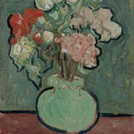 Vincent van Gogh (Dutch, 1853–1890; active in France) Vase of Flowers, summer 1890 Oil on canvas