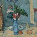 Paul Cézanne (French, 1839–1906) The Blue Vase, circa 1889–1890 Oil on canvas